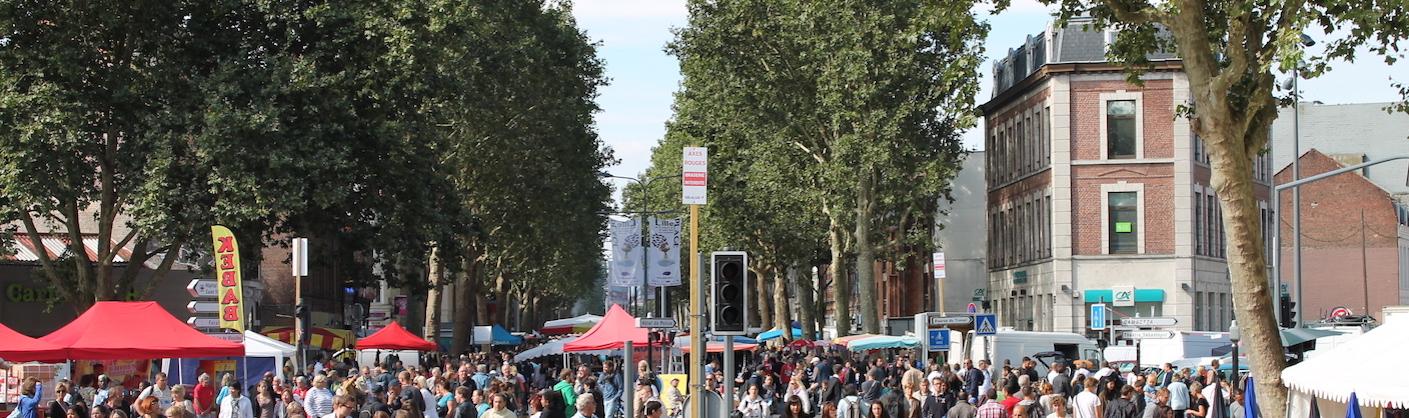 rue de Lille pendant la braderie