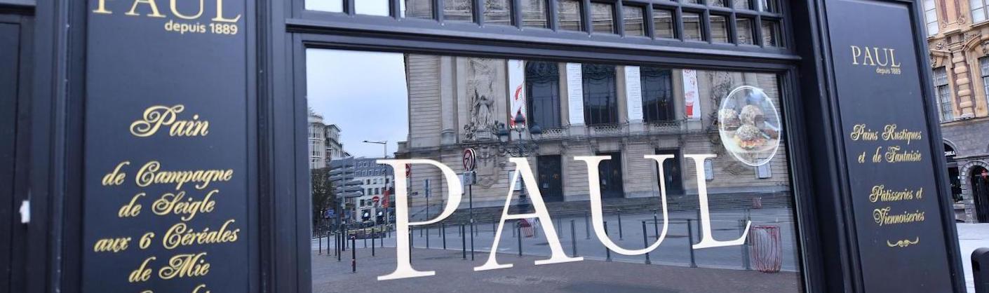 façade de la boulangerie Paul