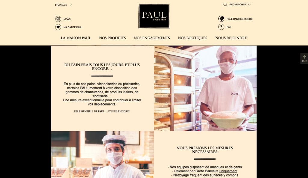 site web Paul