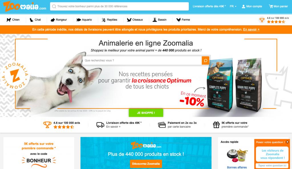 site web zoomalia