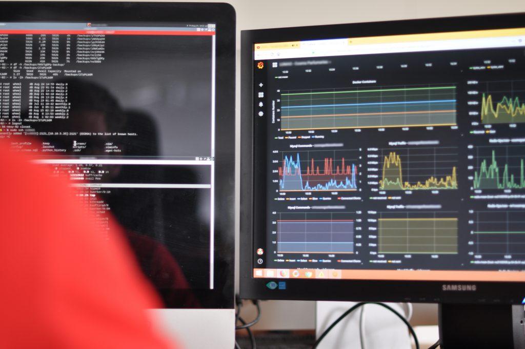 Ecrans de monitoring